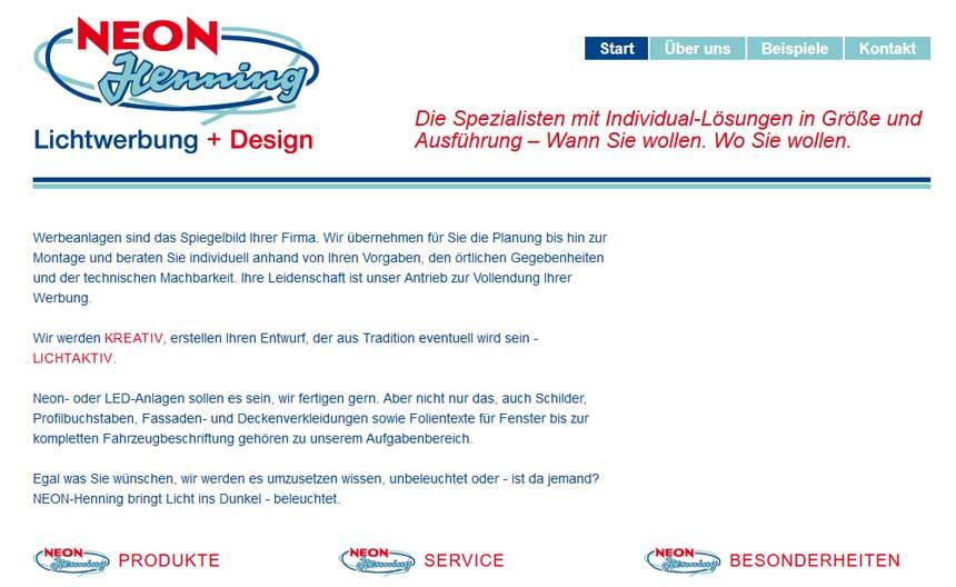 Firma: NEON-Henning Lichtwerbung GmbH